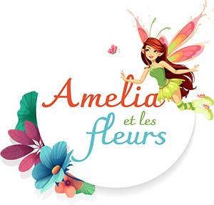 Amélia et les fleurs Logo